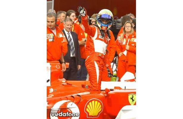 F1ドライバー、フェラーリのフェリペ・マッサも日本を応援