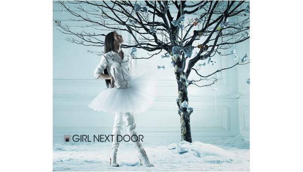 1st Album「GIRL NEXT DOOR」CDのみのジャケット写真