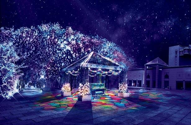 メインエリアの「美術の広場」