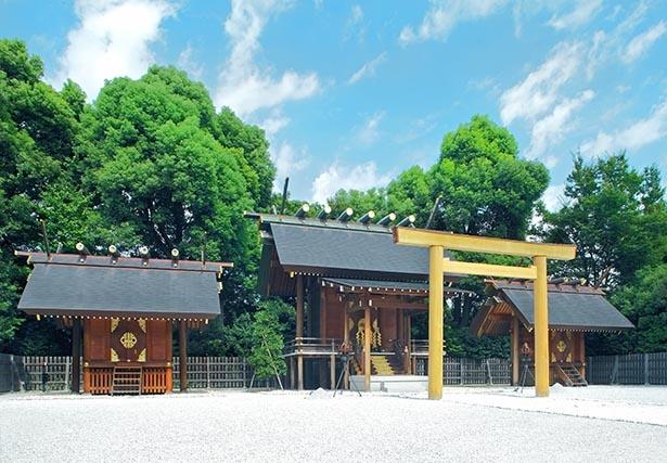 日本の総氏神・天照大御神が祀られ良縁や夫婦円満のご利益がある