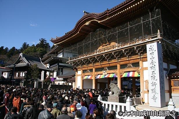 【写真】約305万人が初詣に訪れる千葉・成田のお不動さま
