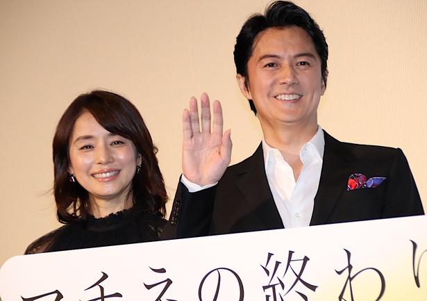 石田ゆり子「恥ずかしくて言えなかった」とはにかみ笑顔