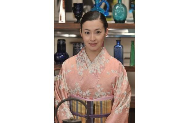 NHKの新番組「にっぽんの芸能」の「花鳥風月堂」にレギュラー出演する檀れい