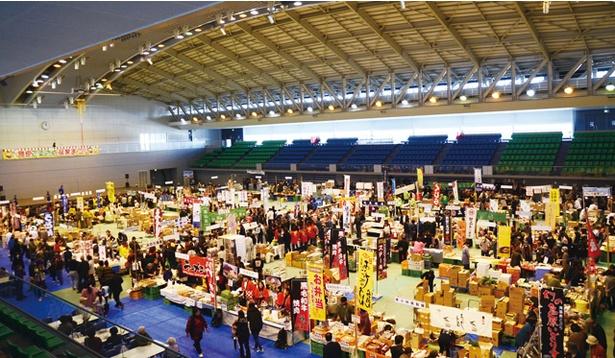島原ふるさと産業まつり / 島原市内の農畜水産、商工製品が一堂に会する祭り