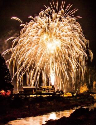 禅海ふるさとまつり2019 / フィナーレの花火