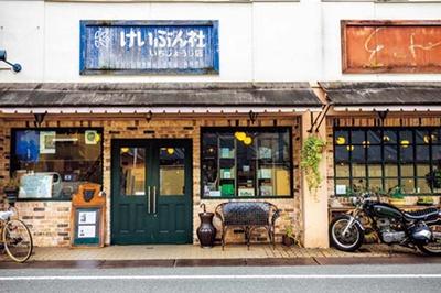 「恵文社 一乗寺店」の西側に「生活館」が。東側にあるギャラリー「アンフェール」にもぜひ立ち寄って/恵文社 一乗寺店