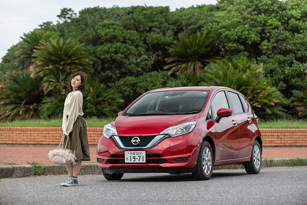 安全機能が充実した電気自動車・日産ノート e-POWERで、北総エリアをドライブ