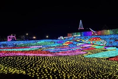 300万球の光が彩るウインターイルミネーション