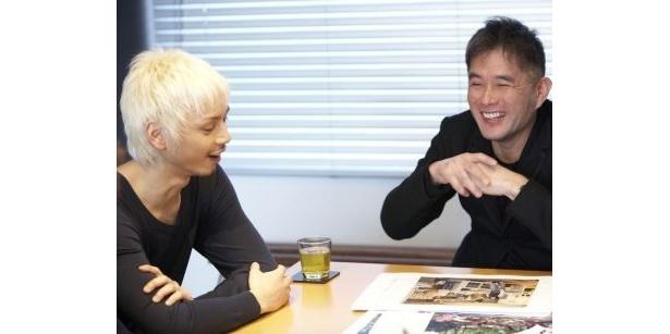 【写真】水嶋ヒロの編集会議風景