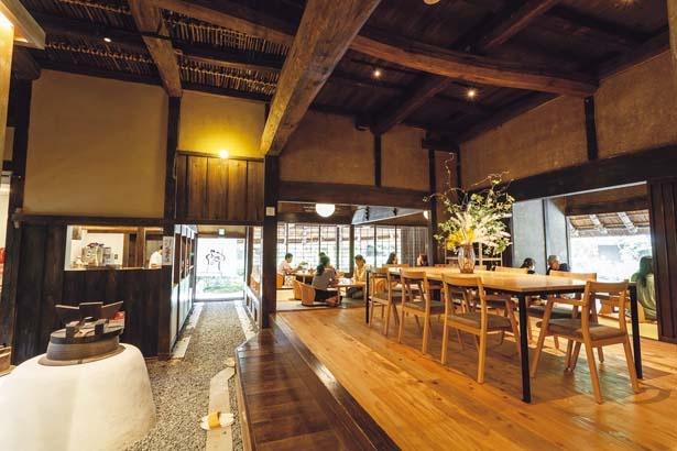 本家屋の落ち着いた雰囲気のカフェ「エスプレッソと」/パンとエスプレッソと嵐山庭園