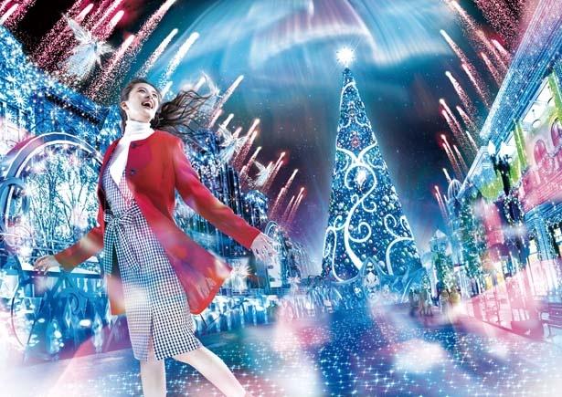 クリスタルの輝きに包まれた全く新しいクリスマス体験!/ユニバーサル・スタジオ・ジャパン