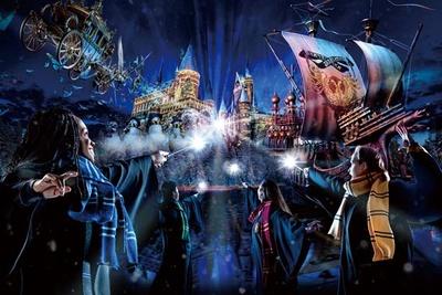 【写真を見る】「ホグワーツ・マジカル・ナイト~ウインター・マジック~」 ※1月14日(火)以降は内容を一部変更予定/ユニバーサル・スタジオ・ジャパン