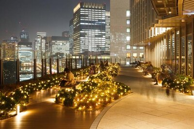 あたたかな光に包まれながらクリスマス気分を楽しめる「Park View Christmas Garden」