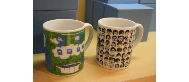 会場にはグッズも置いてありマグカップ(右)が人気