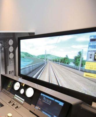 実物大の新幹線&在来線シミュレータに興奮すること間違いナシ