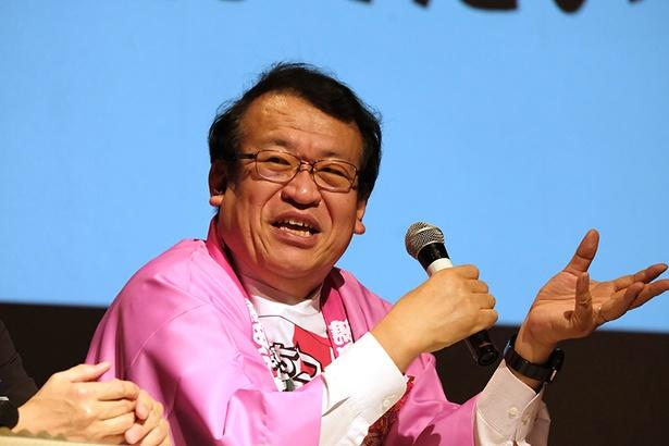 後夜祭では、イベントと飯田のこれからを市民とディスカッション