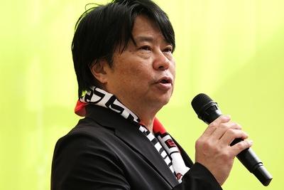 丘フェスに魅せられた竹内宏彰氏は、もはや飯田市民の一人と言える