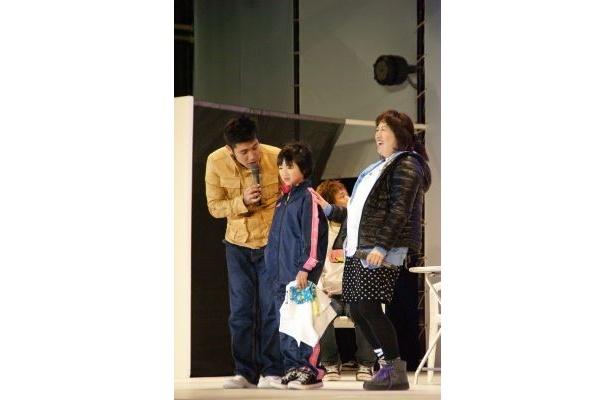 黒沢の私物をゲットしたのは沖縄旅行に訪れていた女の子