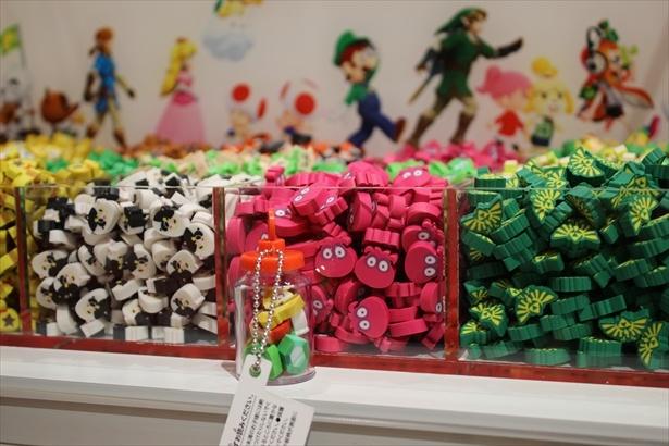 つめつめ消しゴム Nintendo TOKYO