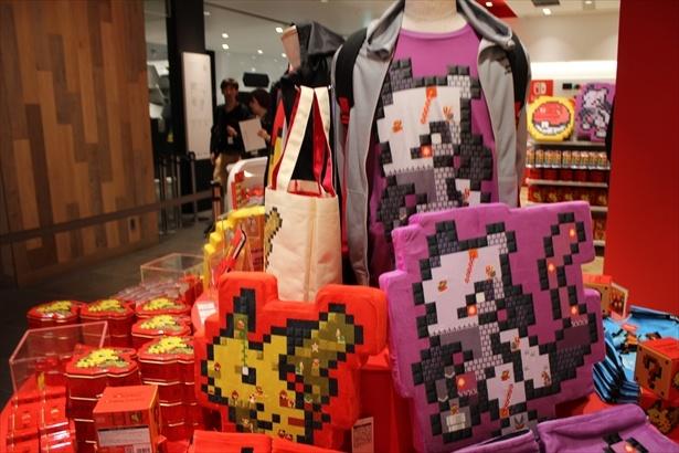 「ポケモンセンターシブヤ」と「Nintendo TOKYO」がコラボした「SUPER MARIO×POKÉMON 8 BIT SCRAMBLE」シリーズ