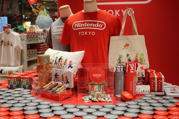 「Nintendo TOKYO」オリジナルグッズ