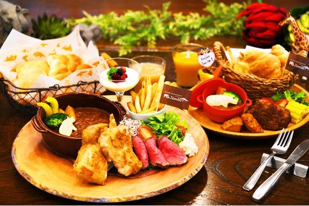 ビーフシチュー、和歌山県産みかん鶏のグリルなど、ウィンターナイトのための特別メニューを用意