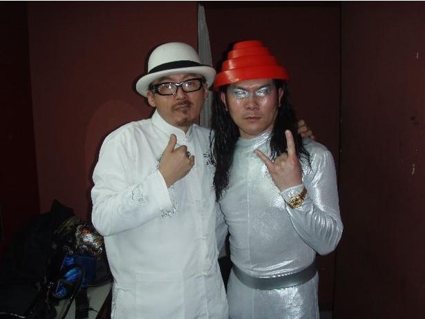10年前に田代まさしさんと組んでいたユニット「マーシー☆ポルシェ」