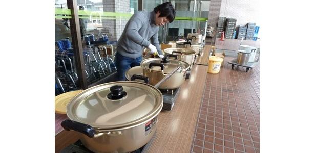 【写真】宮城県や福島県を中心に、炊き出しも!