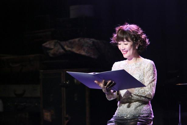 日記を朗読したり、戸田恵子が語る部分もあり様々な演出が詰め込まれている