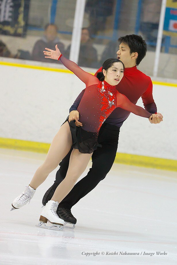 【写真を見る】三浦璃来・木原龍一組、東日本選手権でのショートプログラムの演技