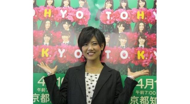 【写真】笑顔がキュートなAKB48の宮澤佐江さん♪