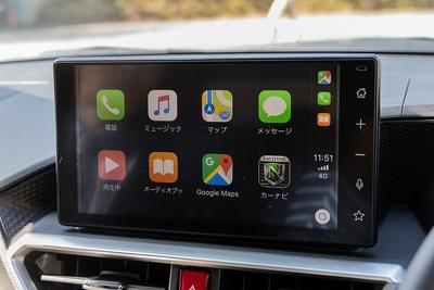 Apple CarPlayが起動した状態