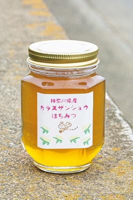 藤沢と湯河原産のハチミツは(120g 950円)