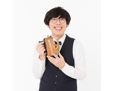 元コーヒーショップ店長のコーヒー芸人・平岡氏