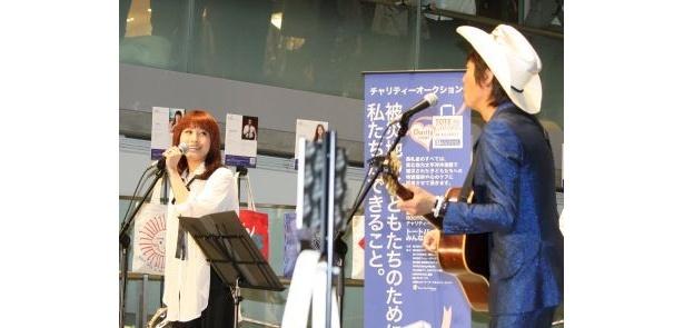 IMALUさん&ウルフルケイスケさんは初ユニットでライブを演奏!