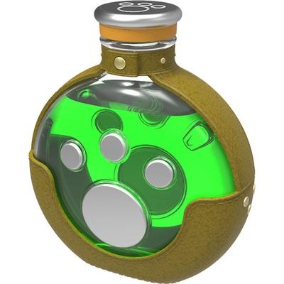 コラボドリンクはプラス料金で「回復薬ボトル (アイルーver.)」付きに変更可能