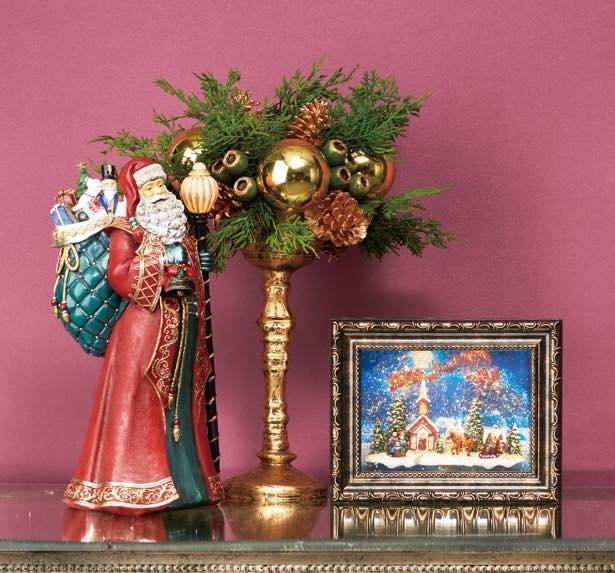 クリスマス気分を高める雑貨を販売