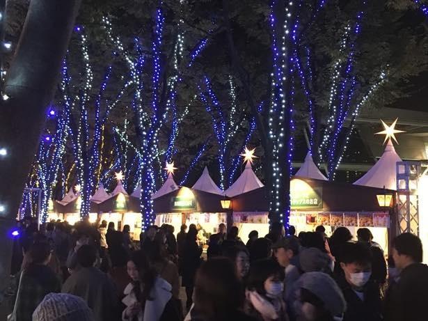 たまアリ△タウンが欧州のクリスマスに様変わり! ※画像は昨年のもの