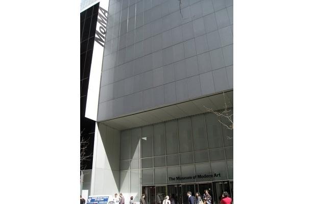 会場となったニューヨーク近代美術館(MOMA)