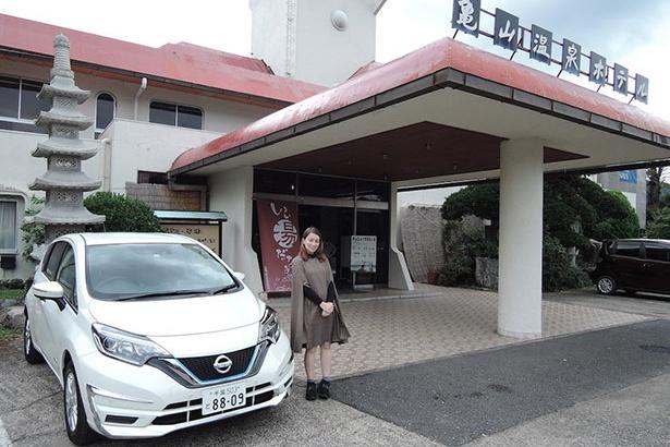 日産のクルマに乗って千葉県内を巡る「ドーキンズ英里奈のスパイス・アップ・レポート」