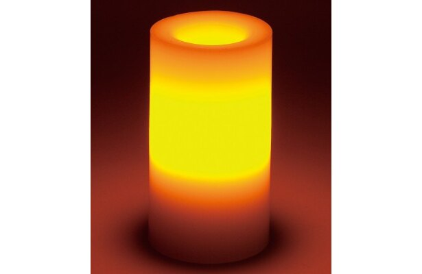ハンズイチオシ! Candle impressions「フレームレスキャンドル」(2625円)