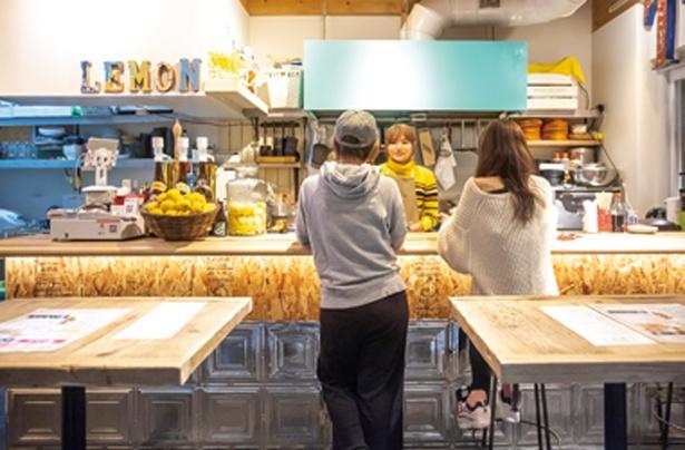 紺屋町TIGER食堂 / 新設した1F立ち飲みスペース
