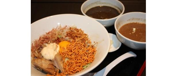 3種の味が楽しめ、おやつ感覚で食べられる「まぜつけ」(1000円)