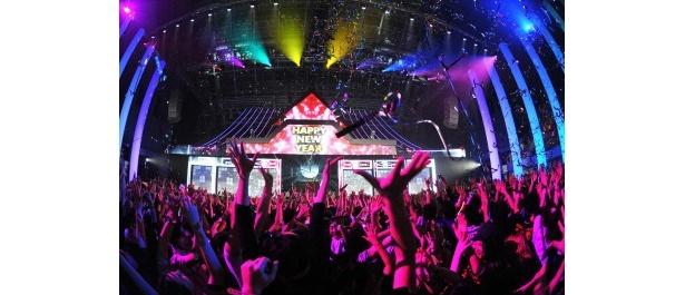 162組の豪華なアーティストが出演した音楽フェスティバル「COUNTDOWN JAPAN 10/11」