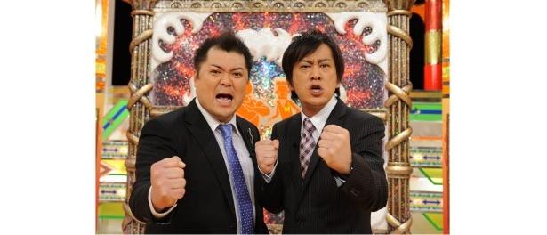 「徹子の部屋2」を目指す!? MCのブラックマヨネーズ・小杉竜一、吉田敬(写真左から)