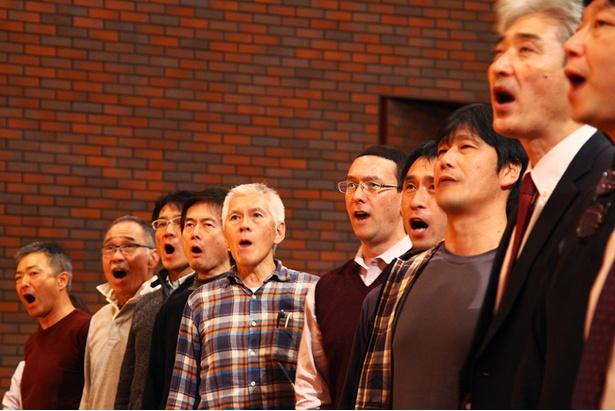 大ホールに響き渡る男性陣の重厚な歌声/サントリー1万人の第九