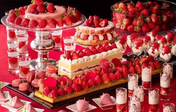 心ゆくまでイチゴを満喫できる「いちごジャーニー」