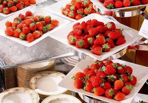 【写真を見る】フレッシュなイチゴを食べ比べる贅沢を体験しよう