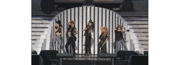 4Minuteは、観客を引き付ける歌とダンスを発揮