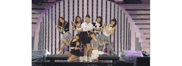 KARAの妹分ともいわれる女性7人グループ・RAINBOW
